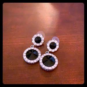 Black drop studs with trim